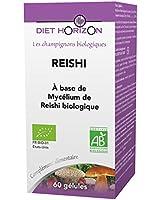 Diet horizon - Reishi bio - 60 gélules - Inhibe les atteintes cellulaires