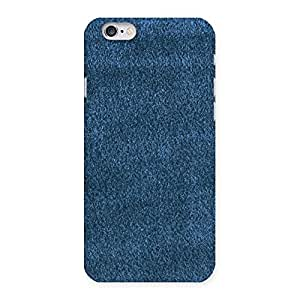 Ajay Enterprises Fill Royal Blue Cloth Prints Back Case Cover for iPhone 6 6S