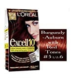 L'OREAL PARIS EXCELL 10 PERMANENT HAIR COLOUR 5.5.6 CHERRY RED