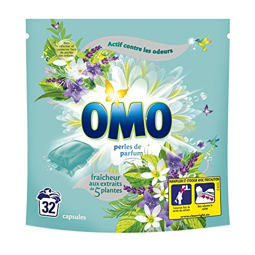 omo-washing-powder-fresh-with-5-plant-extract-capsules-32-pods-pack-of-2