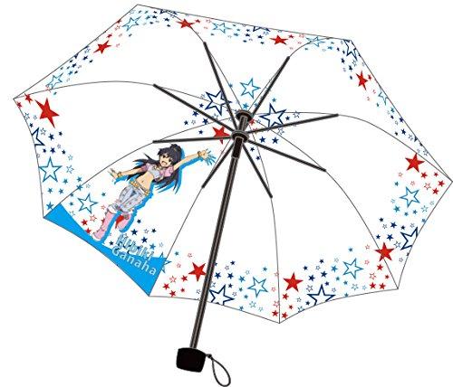 アイドルマスター 晴雨兼用耐風骨折りたたみ傘 【我那覇 響】