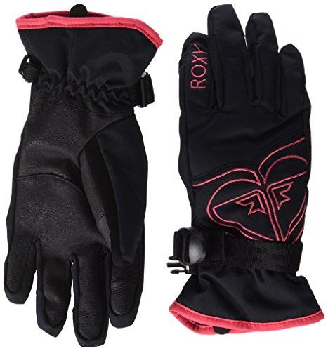 Roxy Guanti Popi Gir, Bambina, Gloves POPI GIR, nero, L
