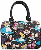 Loungefly Disney Alice in Wonderland Cheshire Cat Crossbody Shoulder Bag Purse