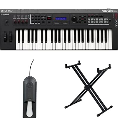 Yamaha MX49 49-Key Keyboard Production Station with Yamaha Pedal & Stand from Yamaha PAC