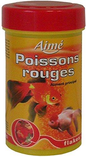 Aime nourriture poisson rouge flocons 100 ml pour for Nourriture poisson rouge super u