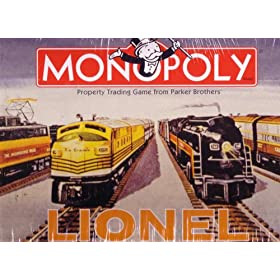 Monopoly : Lionel Train Edition!
