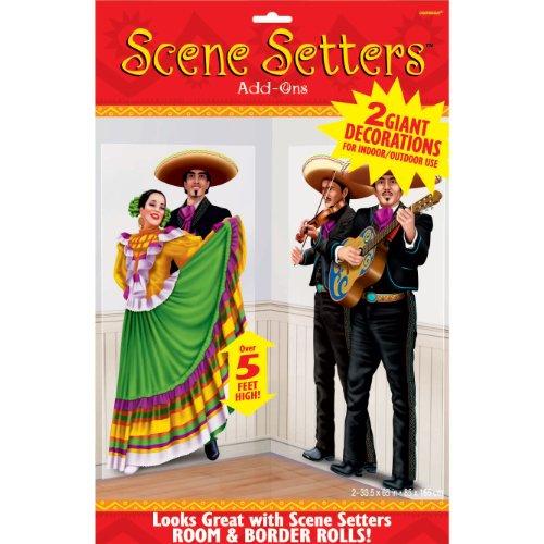 Amscan 5' Fiesta Dancers & Mariachi Add-Ons