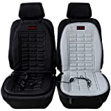 AUDEW 12V Car Front Seat Hot Heater Heated Pad Cushion Winter Warmer Cover