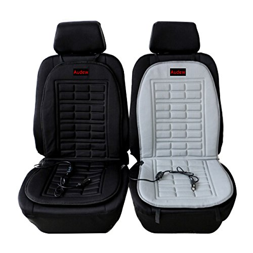 audew universal heated car seat cushion cover 12 volt plug 39 s into cigarette lighter audewmotorgirl31. Black Bedroom Furniture Sets. Home Design Ideas