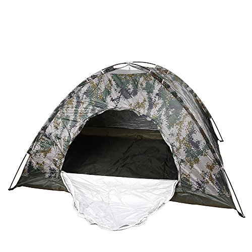 Waterproof Durable Fiberglass Frame for Outdoor Family Camping Camouflage