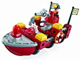 Fisher-Price TRIO Fire Rescue Boat Building Set
