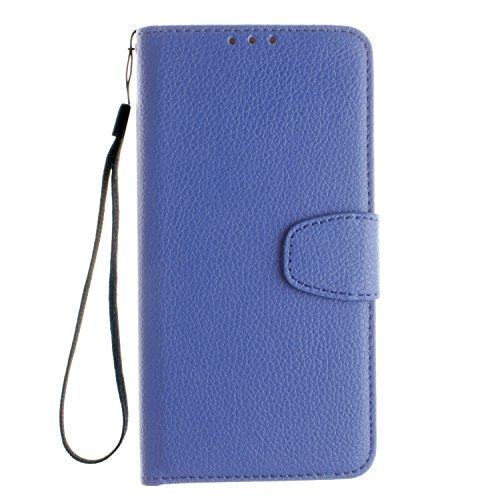 Cozy-Hut-Samsung-Galaxy-S7-Plus-LederhlleMagnetverschluss-Schutzhlle-Folio-Cover-fr-Samsung-Galaxy-S7-Plus-Blau-Ledertasche-im-Bookstyle-mit-Kartenfcher-und-Standfunktion-Hlle-Samsung-Galaxy-S7-Plus-H