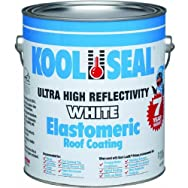Kool Seal KST063300-16 White Elastomeric Roof Coating