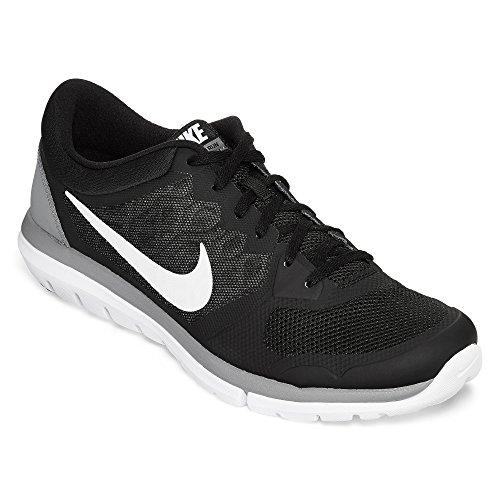 Nike Men's Flex 2015 Rn Black/White/Cool Grey Running Shoe 11 Men US