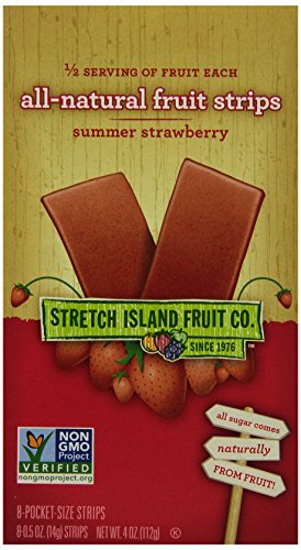 Stretch Island All Natural Fruit Strips, Strawberry, 8-Count - .5 0oz.Strips (Pack of 6) (Fruit Strips Subscribe And Save compare prices)
