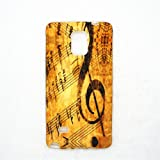 Music Note Sheet music Case Cover Shell skin for Alcatel OneTouch Fierce 2 Pop Icon A564c 7040N