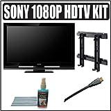 Sony Bravia S-Series KDL-52S4100 52-Inch 1080p LCD HDTV + Accessory Kit