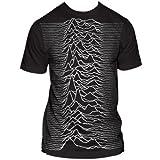 Joy Division Unknown Pleasures Big Print Subway T-Shirt