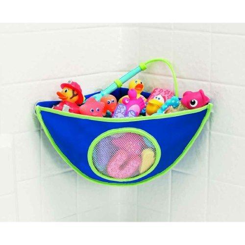 Munchkin Corner Bath Organizer - Assorted colors Blue