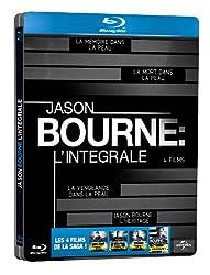 Jason Bourne - L'Intégrale - [Edition Limitée - Boitier Métal] - Intégrale Blu-Ray 1 à 4 [Blu-ray]