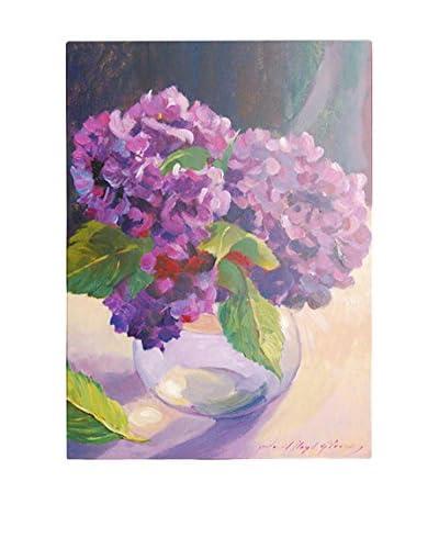 David Lloyd Glover Hydrangea Glass Bowl Canvas Wall Art