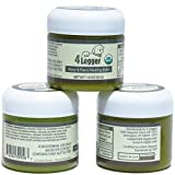 4-Legger Certified Organic Nose and Paw Pad Healing Balm for Dry Chapped Cracked Skin with Hemp Oil and Shea Butter - Made in USA - 1 - 1.9 oz