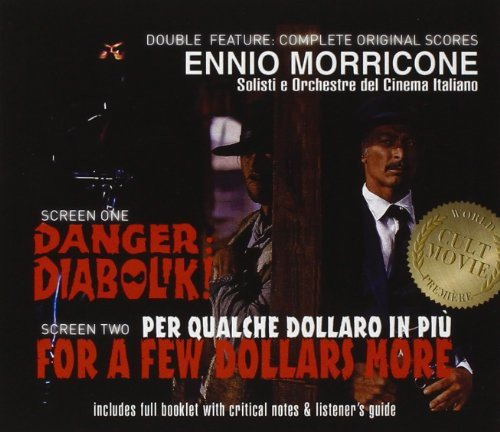 CD : Soundtrack - Danger Diabolik & For A Few Dollars More (Germany - Import, 2 Disc)