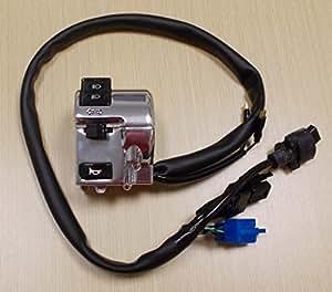 light switch wiring diagram on vn800 turn signal amazon.com: 2008-2014 honda vt 750 vt750 vt750c shadow ... honda shadow signal light switch wiring