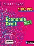 Economie - Droit 1re Bac Pro