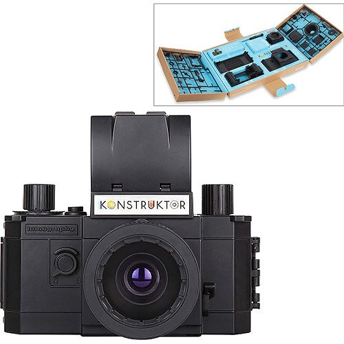Buy Lomography Konstruktor Do-It-Yourself 35mm Film SLR Camera Kit - Includes All Components for Con...