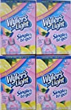 Wyler's Light Pink Lemonade Singles to Go (10 Packets Each Box) Four Boxes
