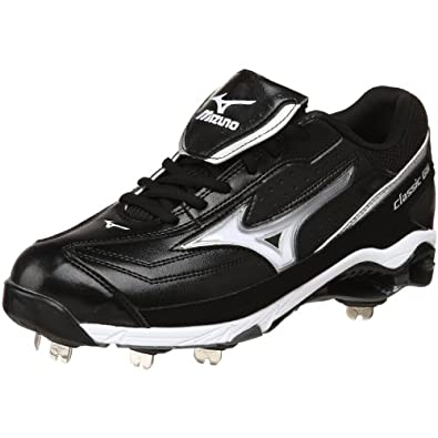 Buy Mizuno Mens 9-Spike Classic G6 Low Switch Baseball Cleat by Mizuno