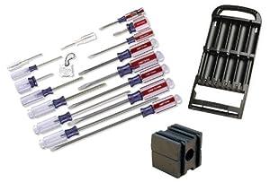 craftsman screwdriver bundle 17 pc screwdriver set with 13 pc holder and magnetizer. Black Bedroom Furniture Sets. Home Design Ideas