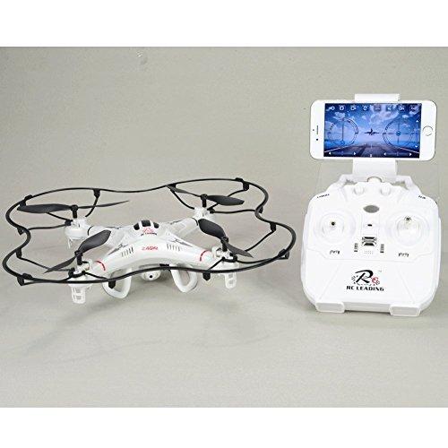 Drone 108W Videocamera HD - Wifi - 6 Canali - Headless Mode - Segui Live sul tuo schermo iPhone o Android - Rotation flip
