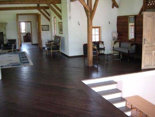 White Oak Hand Scraped Baroque Solid Engineered Hardwood Flooring