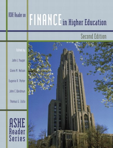 Finance in Higher Education (2nd Edition)