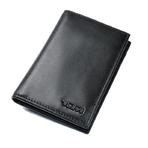 トゥミ TUMI DELTA カードケース MULTI WINDOW CARD CASE BLACK レザー ブラック 18674D