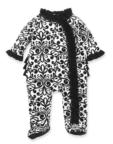Mud Pie Baby-girls Newborn Damask Sleeper