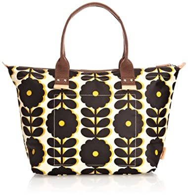 Orla Kiely Cut-Out Wildflower Easy Zip Tote Shoulder Bag