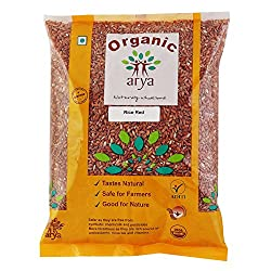 Arya Farm Organic Rice Red, 1Kg