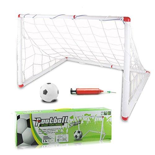Komisch-Kinder-Fuball-Set-mit-Netzen-Pegs-Ball-Pumpe-Mini-Indoor-Outdoor-Sport-Spiel-Spielzeug-fr-Jungen