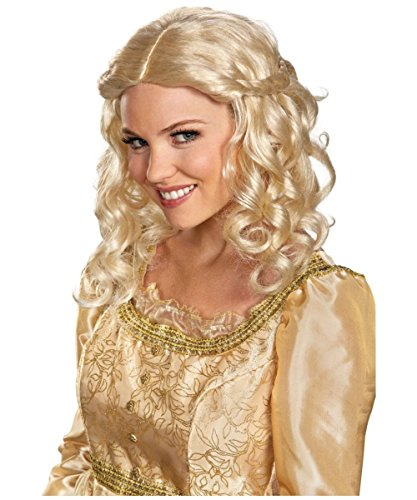 Disneys Maleficent Aurora Womens Wig Costume Accessory