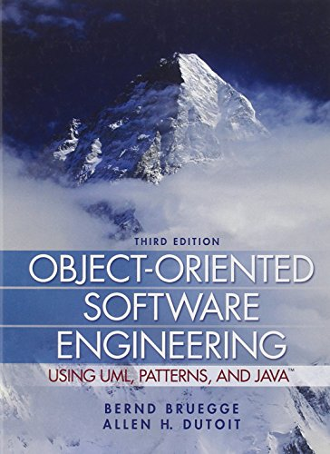 Object-Oriented Software Engineering: Using UML, Patterns and Java