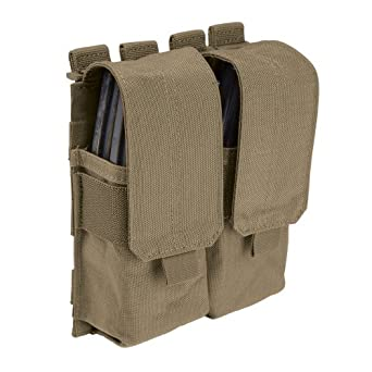 5.11 Tactical Stacked Double Magazine with Cover, Sandstone, One Size
