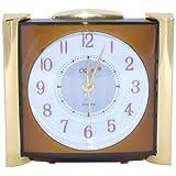 Orpat Beep Alarm Clock (Brown, TBZL/TBETML-737)
