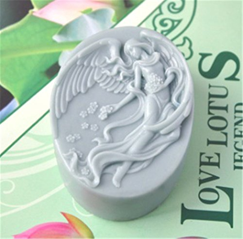 Oval Shape Angel Soap Mold