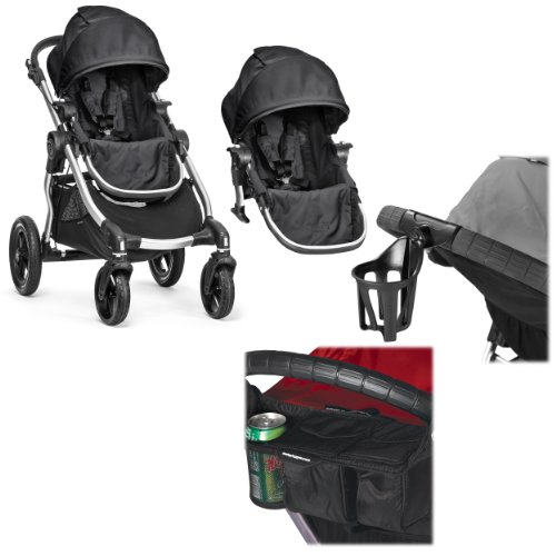 Baby-Jogger-City-Select-Double-Stroller-with-Parent-Console-Cup-Holder-Onyx