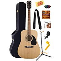 Fender FS02 Squier Acoustic Guitar Bundle w/Case