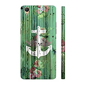 Enthopia Designer Hardshell Case Achor Art Back Cover for Oppo F1 Plus