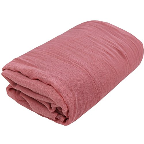 IEFiEL Newborn Shot Baby Cheesecloth Wrap Maternity Photo Prop (Pink )